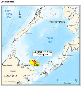 Sulu sea oil exploration