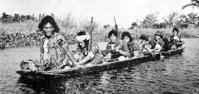 MNLF fighters, circa 1975