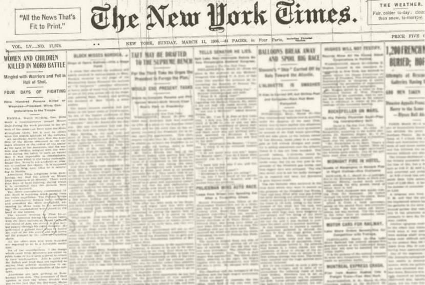 new york times 1906-bud dajo